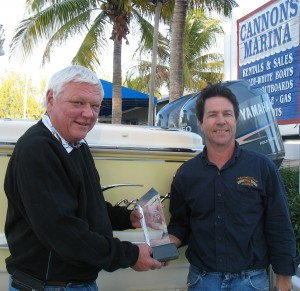 Scout Boats, Cannons Marina Top Boat Dealer Award